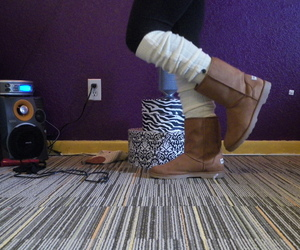 boots, uggs, and love image