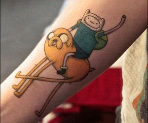 tatto and adventure time image