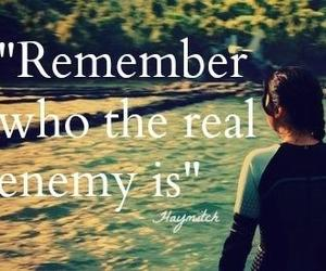 katniss, catching fire, and enemy image