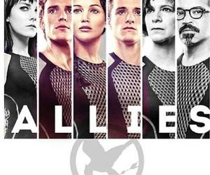 allies, catching fire, and hunger games image