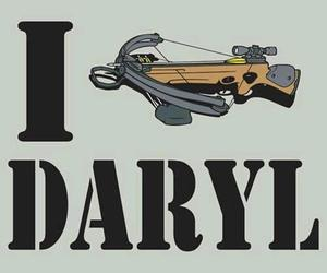the walking dead, daryl dixon, and geek image