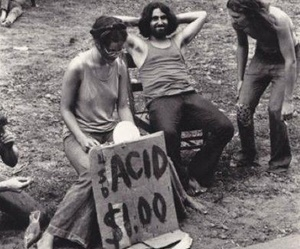 acid, age of aquarius, and festival image