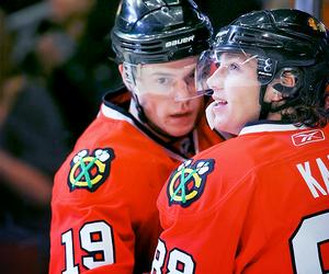 bromance, hockey, and nhl image