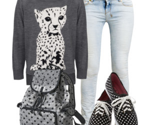 clothes, girl, and outfit image