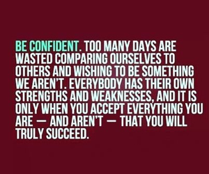 confidence, strength, and succeed image