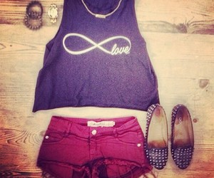 outfit, clothes, and infinity image