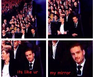 liam payne, one direction, and mirrors image