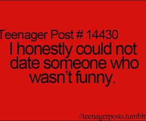 funny, date, and teenager post image