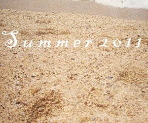 sand, 2011, and summer image