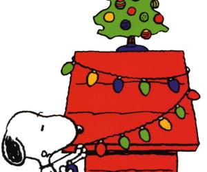 snoopy and christmas image