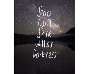 inspire, quotes, and stars image