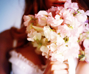 bra, fashion, and flower image