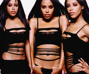 aaliyah, legend, and angel image