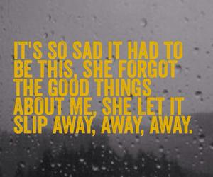 clouds, Lyrics, and rain image