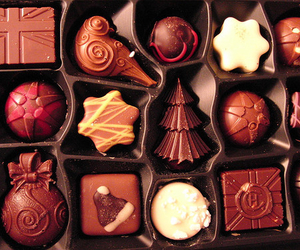 chocolate, christmas, and food image
