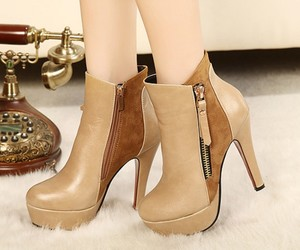 ankle boots, fashion, and hot sale image