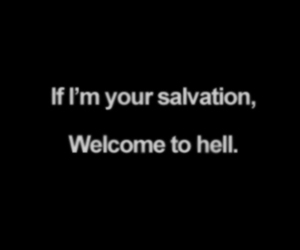 quotes, hell, and salvation image