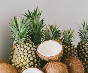 coconut, pineapple, and FRUiTS image