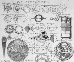 astronomy, planet, and drawing image