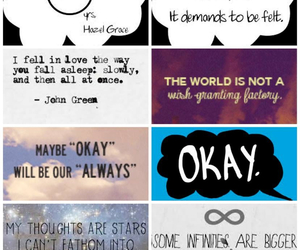 john green, book, and okay image