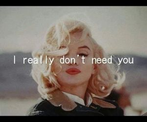 quotes, Marilyn Monroe, and you image