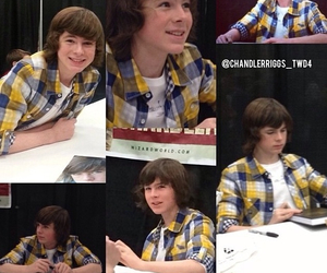 beautiful, the walking dead, and chandler riggs image