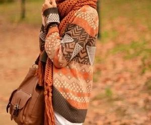 bags, outfit, and warm image