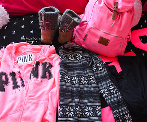 pink and clothes image
