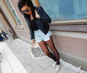 bag, jeans, and convers image