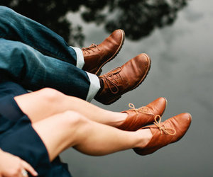 couple, shoes, and vintage image