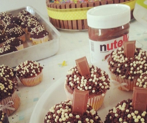 dreamy, nutella, and happykid image