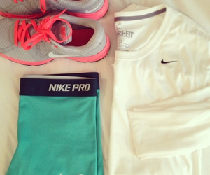 nike, fit, and health image