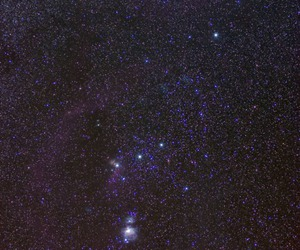 stars, galaxy, and orion image
