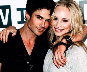 ian somerhalder, candice accola, and the vampire diaries image