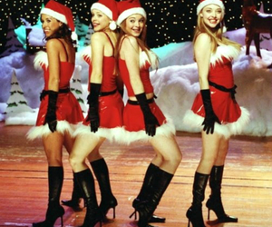 mean girls, christmas, and movie image