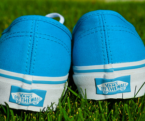 vans, blue, and cool image