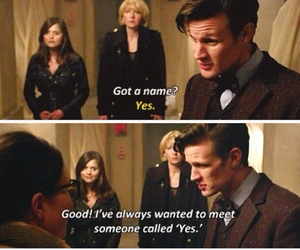 call, doctor who, and eleven image
