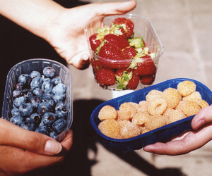 food, fruit, and strawberries image