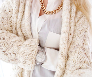 classy, fashion, and gold image