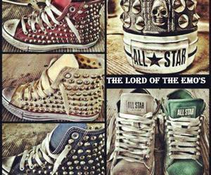 all star, sneakers, and cute image