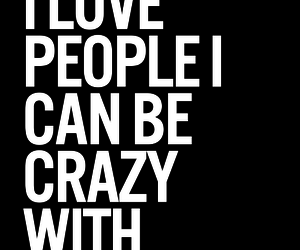 quotes, crazy, and love image