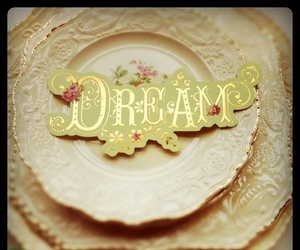 dish, Dream, and dreamer image