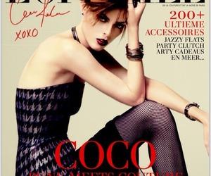 Coco Rocha, editorial, and supermodel image
