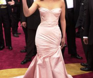 oscars, pink, and Versace image