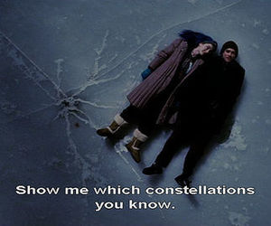 constellations, eternal sunshine, and ice image