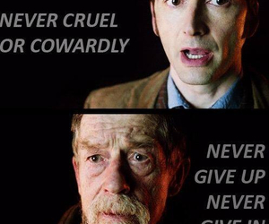 doctor who, david tennant, and quote image