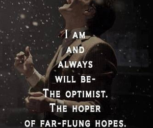 doctor who, optimist, and quotes image