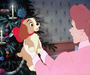 disney, dog, and christmas image