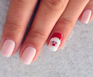 nails and santa image