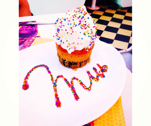 colours, cupcake, and hipster image